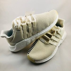 New Adidas EQT Support 93/17 Off White Size 9.5